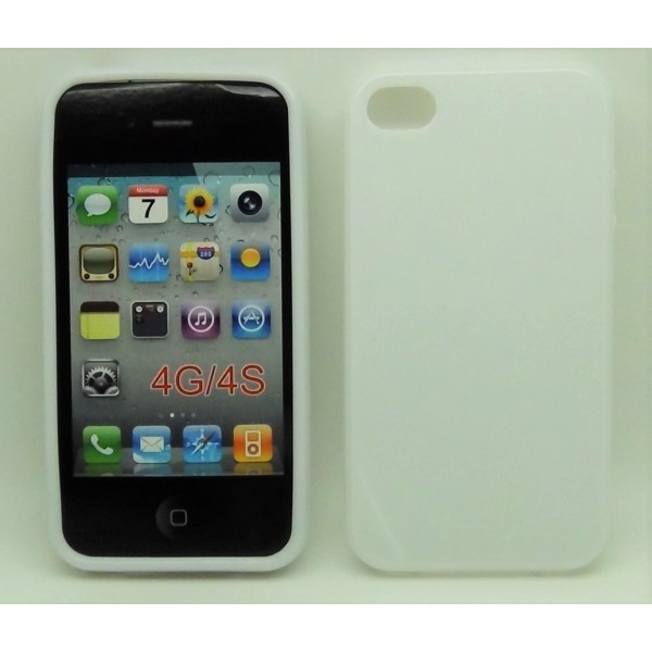 Accessori - Cover iPhone 4 e 4S Bianco