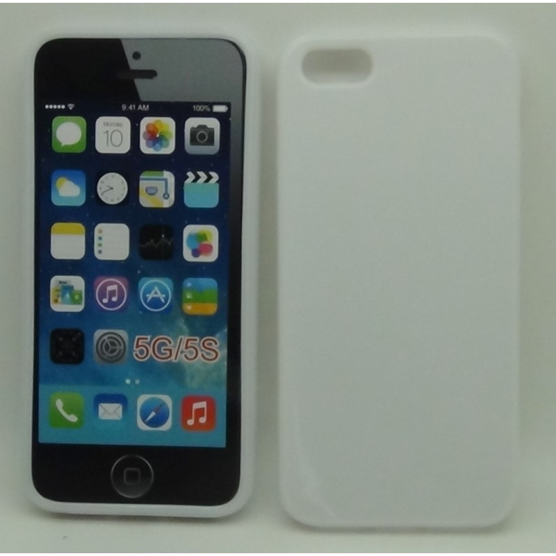 cover iphone 5c bianco