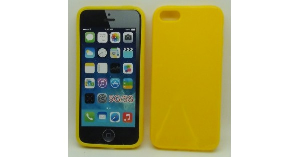 cover iphone 6 gialla