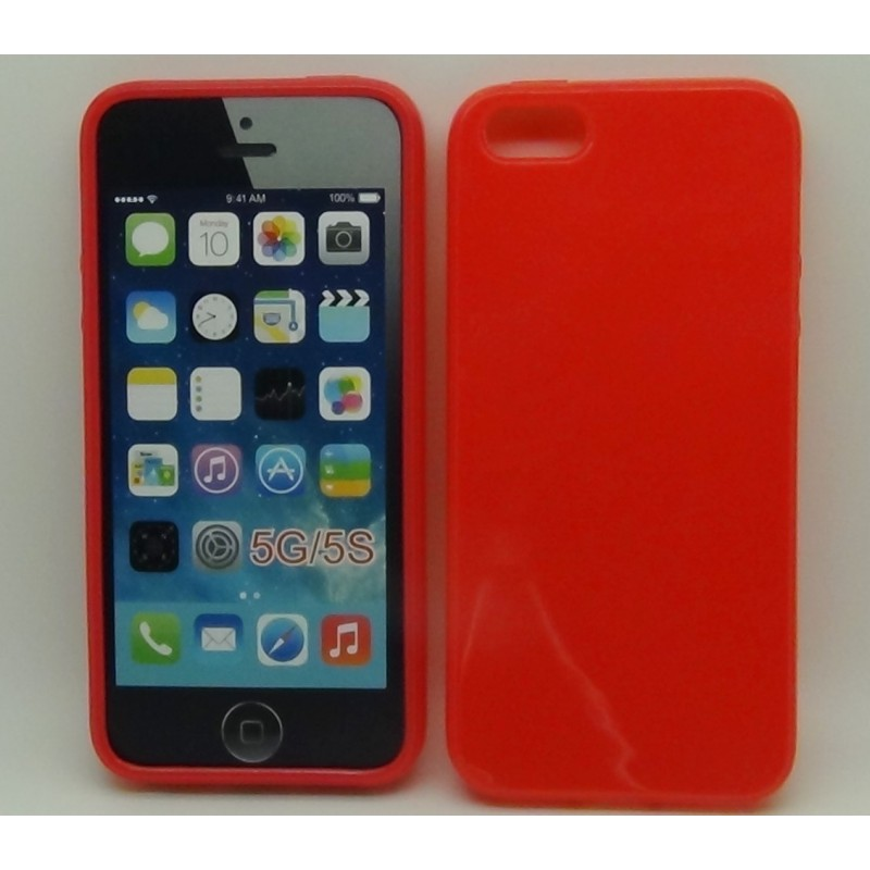 Accessori I Phon 5.Cover Iphone 5 E 5s Rossa Nella Categoria Accessori Iphonericondizionati