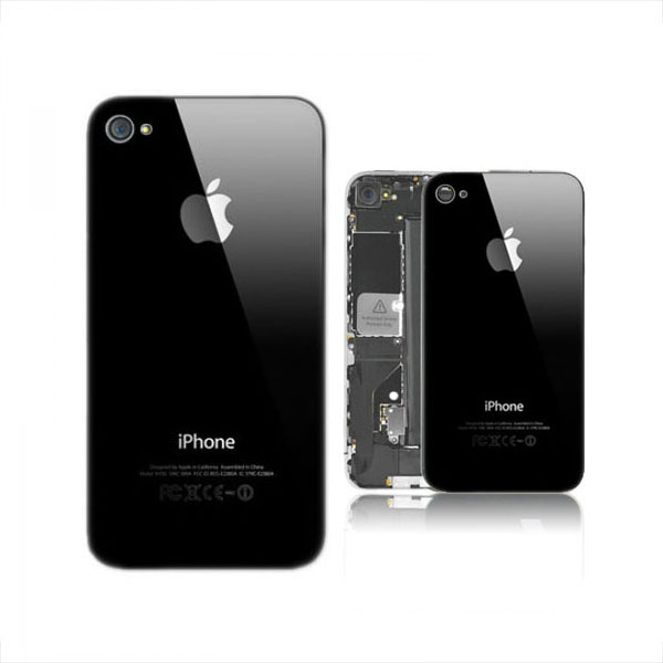 Back Cover iPhone 4S Nera