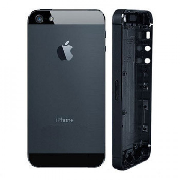 Back Cover iPhone 5 Nera